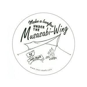 tent mark DESIGNS ステッカー Musasabi-Wing【テンマクデザイン ムササビ】