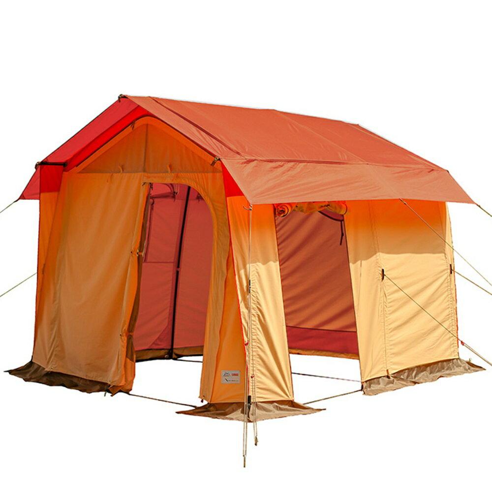 画像1: テンマクデザインからソロキャンプ用ガレージテントが今冬リリース! みーこパパがさくぽんさんにテント開発裏をインタビュー
