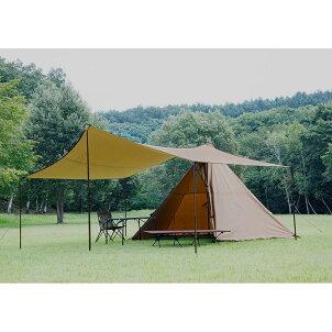 tent-MarkDESIGNS(テンマクデザイン)焚火タープSTコネクトヘキサ