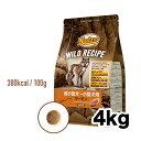 【ニュートロ】ワイルド レシピ【超小型犬〜小型犬用】【成犬用】サーモン 4kg
