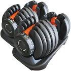 アジャスタブルダンベル24kg1本(片手)[WILDFITワイルドフィット]送料無料ダンベルウエイトトレーニング筋トレ