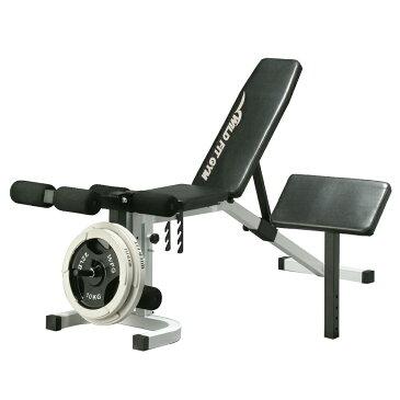 インクラインデクラインベンチ[WILD FIT ワイルドフィット] 送料無料 自宅 トレーニングマシン 筋トレ 腹筋 胸筋 レッグ