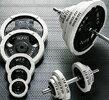 【円高還元】【送料無料】白ラバーバーベルダンベルセット70kg【トレーニングマシン・格闘技用品のワイルドフィット】【smtb-k】【ky】【YDKG-k】【ky】