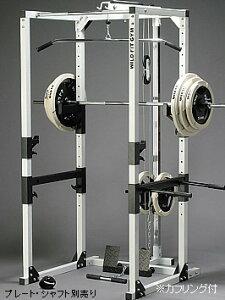 自宅で極限トレーニングに挑戦!安全性に優れたエクササイズが可能!!パワーラックPROフルモデ...