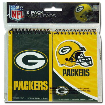 NFL Packers パッカーズ メモ帳2冊セット