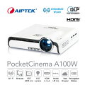 ������̵����AIPTEKWi-Fi�ץ?��������PocketCinemaA100WMiracastAirplay�б�����120�������ơ���Х���Хåƥ꡼��ǽ���
