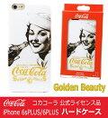 【送料無料】コカコーラ公式iphone6sPLUS/6PLUSケースCoca-ColaハードケースGoldenBeautyゴールデンビューティー