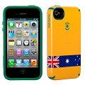 iPhone4/4SCandyShellFlagAustralia�������ȥ�ꥢ�����ǥ���������ե�å����꡼��