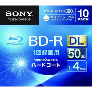 SONYBD-RDL10枚1回録画ブルーレイディスクBlu-rayDisc10BNR2VGPS4