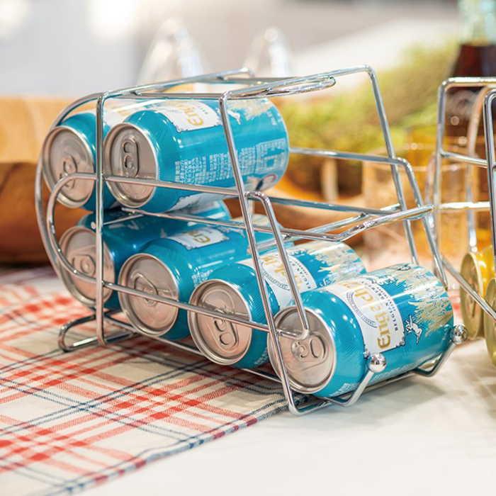 カンディスペンサー 缶ディスペンサー 缶ストッカー 350ml缶専用 収納ラック キッチン収納 キッチン雑貨 便利グッズ 雑貨の写真