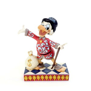 Scrooge Duck Tales 13.7cm | Disney Figure Adult Doll Figurine Jim Shore Goods Scrooge Duck Tales Jim Shore Disney Traditions JIM SHOREJIM SHORE DISNEY TRADITIONS Regular Import