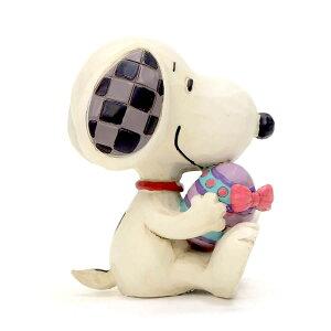 スヌーピー イースターエッグ ミニ 7cm   スヌーピー フィギュア 大人向け 人形 置物 ジムショア グッズ Mini Snoopy Holding Easter Egg ジム・ショア ピーナッツ JIM SHOREJIM SHORE PEANUTS 正規輸入品