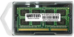 【一年保証品!】ノートパソコン用メモリー,高品質で信頼のチップを搭載0607 WT-SD1333-4GB  ...