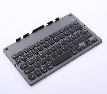 5256【ネコポス送料込】WT-KBBT03-BK Bluetooth 折りたたみ式キーボード 英語配列 ブラック スタンド 日本語説明書添付 iOS、Android、Windows対応 Keyboard、iphone、ipad