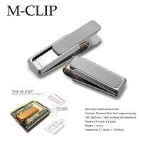 【M-Clip】高級マネークリップステンレス札ばさみ【MotherofPearlNatural】【エムクリップ】