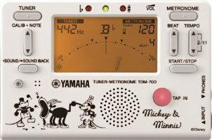 クロマチックチューナー&メトロノームYAMAHAヤマハTDM-700DMN5