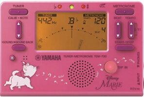 クロマチックチューナー&メトロノームYAMAHAヤマハTDM-700DMRE