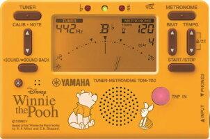 クロマチックチューナー&メトロノームYAMAHAヤマハTDM-700DPO4