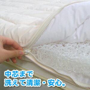 洗える布団(敷きふとん)東洋紡ブレスエアー(BREATHAIR)ダブルサイズ