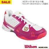 【SALE】ウイルソン RUSH PRO SL AC W(WRS319630U+)[Wilson シューズ レディース]オールコート用
