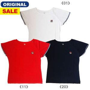 【ワゴンセール価格】フィラ ゲームシャツ(VL1811)[FILA LS レディーステニスウエア]※ウインザーオリジナル