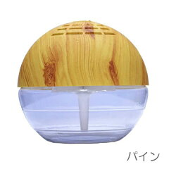 COCORO@mode 空気洗浄機Wooden Finish L 1台で除菌・消臭・アロマと3役も!光るライトがキレ...