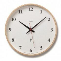 Lemnos (レムノス)Plywood clock 電波時計【ポイント10倍】