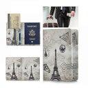 パスポートカバー ケース 海外旅行用品 航空券トラベル パスポートケース おしゃれ シンプル メール便送料無料