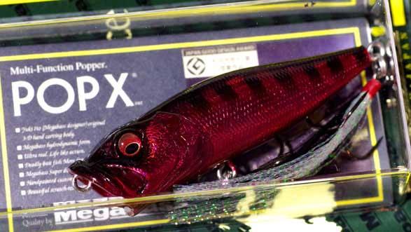メガバス(Megabass)POPX(ポップエックス)2015年春季限定生産カラー(SP-C)レッドギル