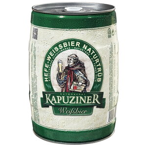 いつでもお家がビアホール【ドイツビール】ドイツの本格ビール カプツィーナヴァイツェン5L缶...