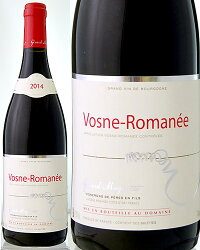 ヴォーヌ・ロマネ[2014]ドメーヌ・ジェラール・ミュニュレ(赤ワイン)