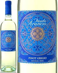 ピノ・グリージョ[2011]フェウド・アランチョ(白ワイン)