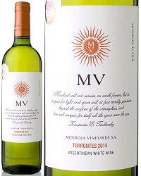 【『sakuraワイン・アワード2016』ダブル・ゴールド受賞!】MVトロンテス[2014]メンドーサ・ヴィンヤード(白ワイン)