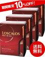 【6月28日より出荷】【送料無料】ロスカロス3000mlバックインボックス×4箱セット(赤ワイン)(同梱不可)[A][Y][P]