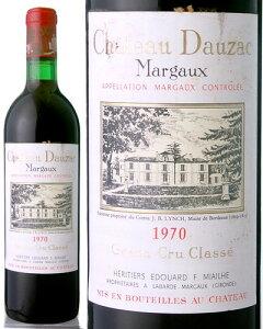 シャトー・ドーザック[1970](赤ワイン)※ラベル瓶&キャップに汚れ・破れ・傷有り※[Y][S][D]
