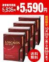 【送料無料】【赤×4箱】ロスカロス3000ml(3L)バックインボック...