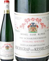 シャルツホフベルガー・シュペトレーゼ[1988]ケッシェルシュタット(白ワイン)