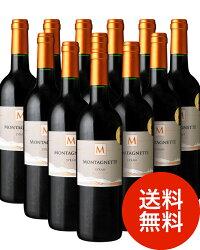 【送料無料】モンタネット・シラー[2013]12本セット(赤ワイン)(同梱不可・送料無料)(代引き手数料・クール便は別途費用が掛かります)