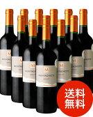 【送料無料】モンタネット・メルロー[2015]12本セット(赤ワイン)(同梱不可・送料無料)(代引き手数料・クール便は別途費用が掛かります)[Y][A][J]