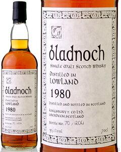 ブラドノック[1980]54.1℃・700ml(モルト・ウイスキー)