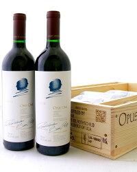 【オリジナル木箱入り】オーパス・ワン[2012]6本木箱入り(赤ワイン)※同梱不可[S]