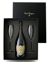 【オリジナル箱入り】ドン・ペリニヨン[2006]グラスセット(泡・白)(ワイン(=750ml)8本と同梱可)【正規輸入品】