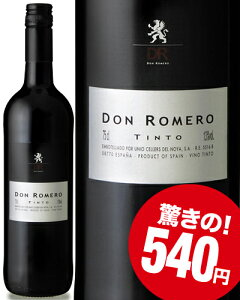 ドン・ロメロ・ティントN.V.(赤ワイン)[Y][A][P]