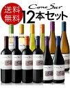 【送料無料】【ワインセット】満を持してついに登場!チリの旨安ワインの代表格!コノスル・ヴァラエタルシリーズ品種の個性飲み比べ12本セット(白6+赤6)(送料込み・同梱不可)(代引き手数料・クール便別途)[T][A]