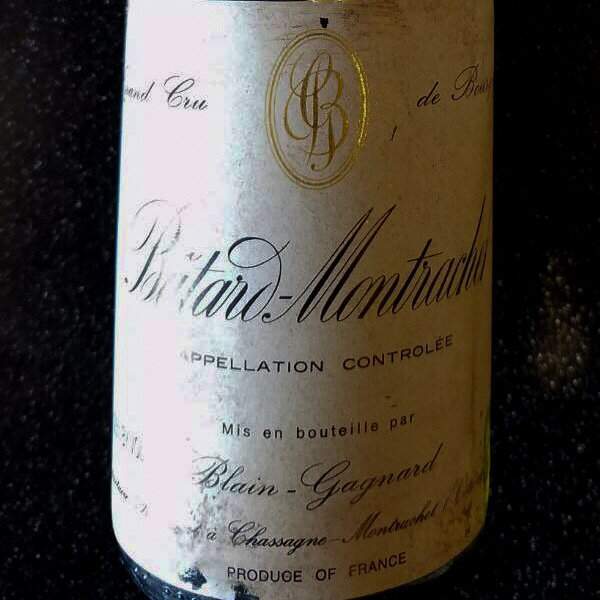 1996バタールモンラッシェ375ml生産者ブランガニャール天然地下蔵熟成ワイン ギフト贈答用  プレゼント対応可