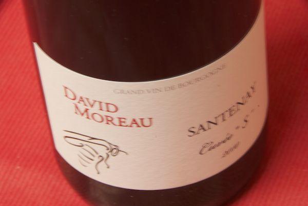 Domaine de la buys ALE (David Moreau) and Santon cuvee es [2010]