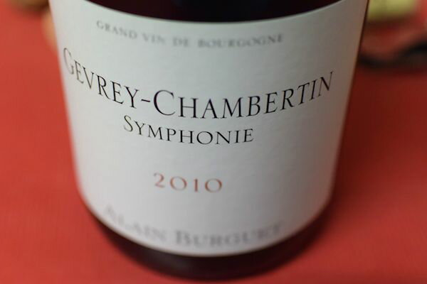 Domaine Alain buggy/gevrey Chambertin Symphony [2010]