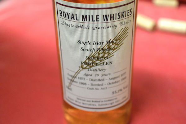 Royal Mile whiskey / port Ellen 19 years 1977 55.1% old bottle