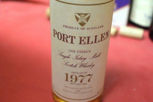 Port Ellen / 1977 18 years 61% old bottle