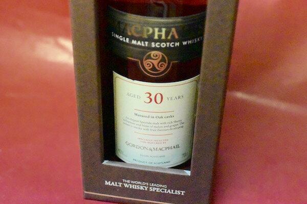 ゴードン&マックファイル / マクファイルズ 30年 40% 700ml【モルト・ウイスキー】:ワインショップ・ワインホリック